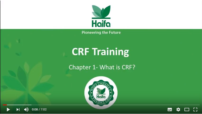 Haifa CRF Training